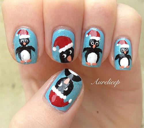 15-Christmas-Penguin-Nail-Art-Designs-Ideas-Stickers-2015-Xmas-Nails-12