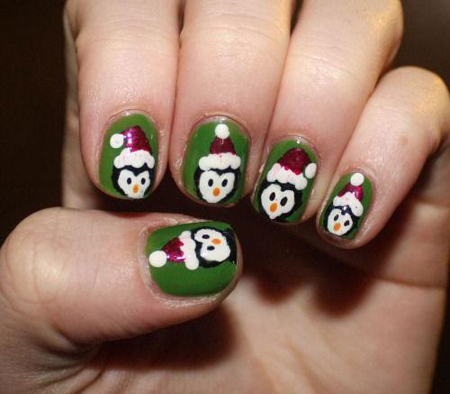 15-Christmas-Penguin-Nail-Art-Designs-Ideas-Stickers-2015-Xmas-Nails-13