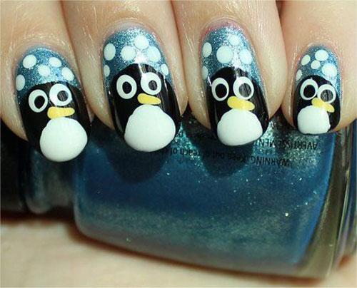 15-Christmas-Penguin-Nail-Art-Designs-Ideas-Stickers-2015-Xmas-Nails-4