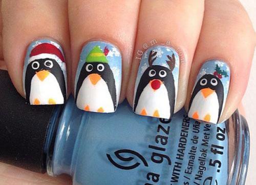 15-Christmas-Penguin-Nail-Art-Designs-Ideas-Stickers-2015-Xmas-Nails-5