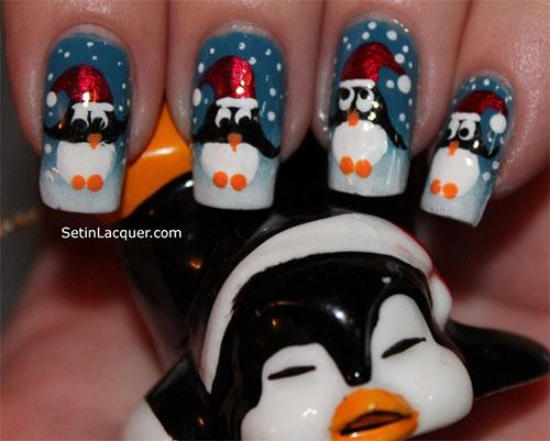 15-Christmas-Penguin-Nail-Art-Designs-Ideas-Stickers-2015-Xmas-Nails-6