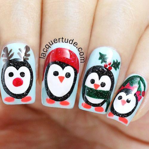 15-Christmas-Penguin-Nail-Art-Designs-Ideas-Stickers-2015-Xmas-Nails-8