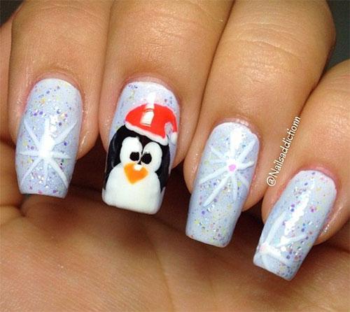 15-Christmas-Penguin-Nail-Art-Designs-Ideas-Stickers-2015-Xmas-Nails-9