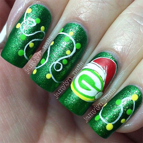 15-Red-Green-Gold-Christmas-Nail-Art-Designs-Ideas-2015-Xmas-Nails-12