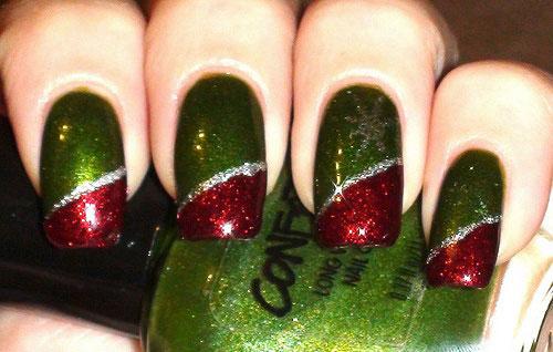 15-Red-Green-Gold-Christmas-Nail-Art-Designs-Ideas-2015-Xmas-Nails-16