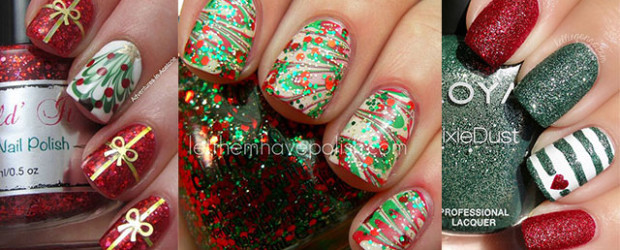 15-Red-Green-Gold-Christmas-Nail-Art-Designs-Ideas-2015-Xmas-Nails-F