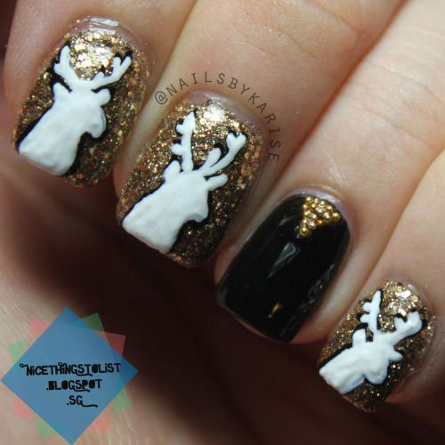 15-Reindeer-Nail-Art-Designs-Ideas-Stickers-2015-Xmas-Nails-13