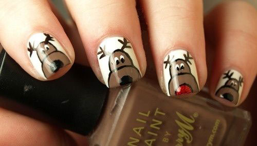 15-Reindeer-Nail-Art-Designs-Ideas-Stickers-2015-Xmas-Nails-6