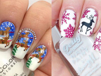 15-Reindeer-Nail-Art-Designs-Ideas-Stickers-2015-Xmas-Nails-F