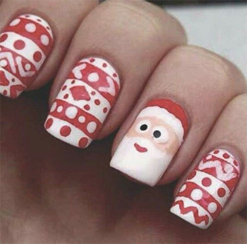15-Santa-Nail-Art-Designs-Ideas-Trends-Stickers-2015-Xmas-Nails-6