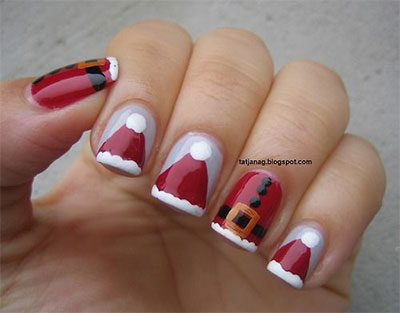 15-Santa-Suit-Nail-Art-Designs-Ideas-Trends-Stickers-2015-Xmas-Nails-11