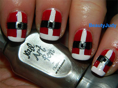15-Santa-Suit-Nail-Art-Designs-Ideas-Trends-Stickers-2015-Xmas-Nails-7