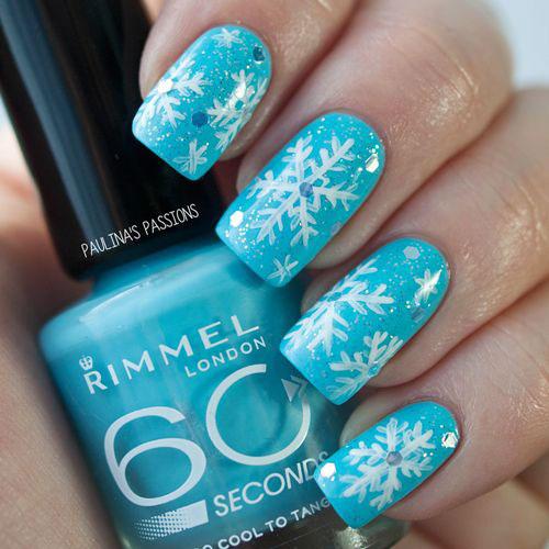 20-Christmas-Snowflake-Acrylic-Nail-Art-Designs-Ideas-Stickers-2015-Xmas-Nails-1