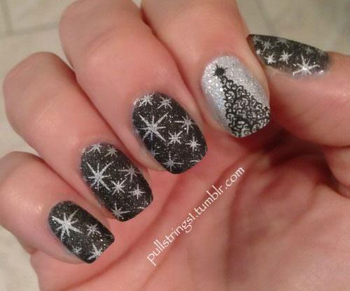 20-Christmas-Snowflake-Acrylic-Nail-Art-Designs-Ideas-Stickers-2015-Xmas-Nails-11