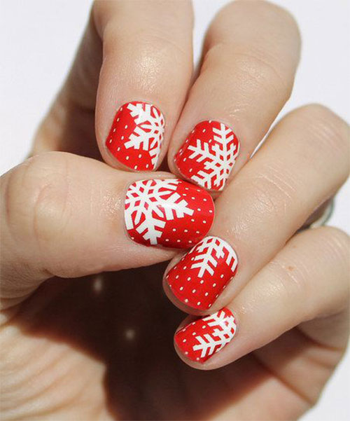 20-Christmas-Snowflake-Acrylic-Nail-Art-Designs-Ideas-Stickers-2015-Xmas-Nails-12