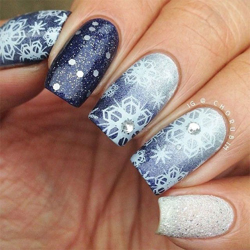 20-Christmas-Snowflake-Acrylic-Nail-Art-Designs-Ideas-Stickers-2015-Xmas-Nails-14