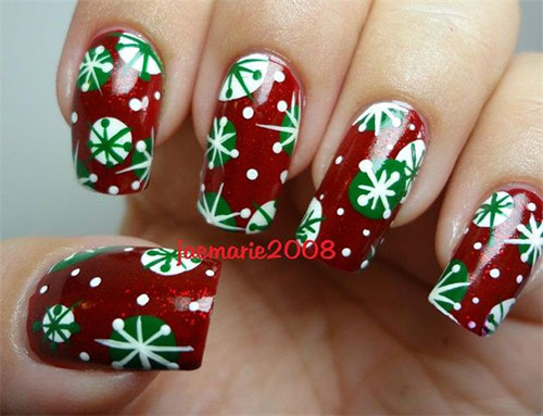 20-Christmas-Snowflake-Acrylic-Nail-Art-Designs-Ideas-Stickers-2015-Xmas-Nails-17