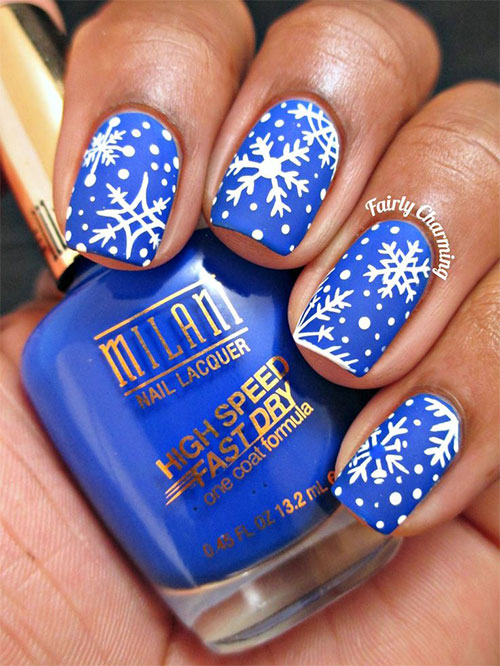 20-Christmas-Snowflake-Acrylic-Nail-Art-Designs-Ideas-Stickers-2015-Xmas-Nails-2