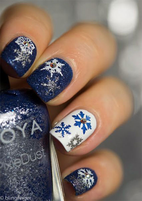 20-Christmas-Snowflake-Acrylic-Nail-Art-Designs-Ideas-Stickers-2015-Xmas-Nails-7