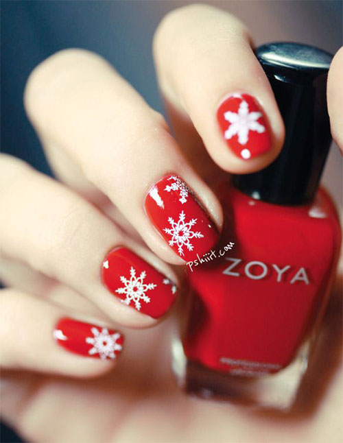 20-Christmas-Snowflake-Acrylic-Nail-Art-Designs-Ideas-Stickers-2015-Xmas-Nails-9