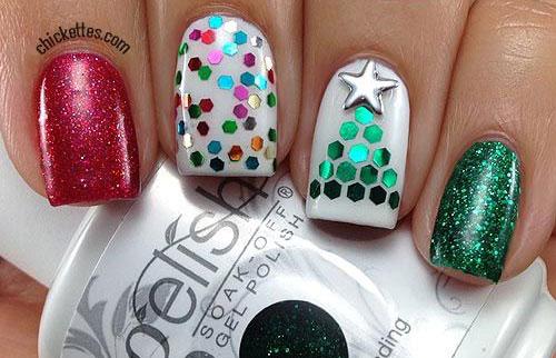 50-Easy-Christmas-Tree-Nail-Art-Designs-Ideas-Stickers-2015-Xmas-Nails-17