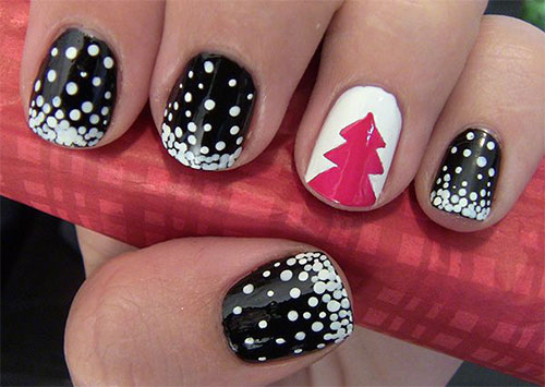 50-Easy-Christmas-Tree-Nail-Art-Designs-Ideas-Stickers-2015-Xmas-Nails-22