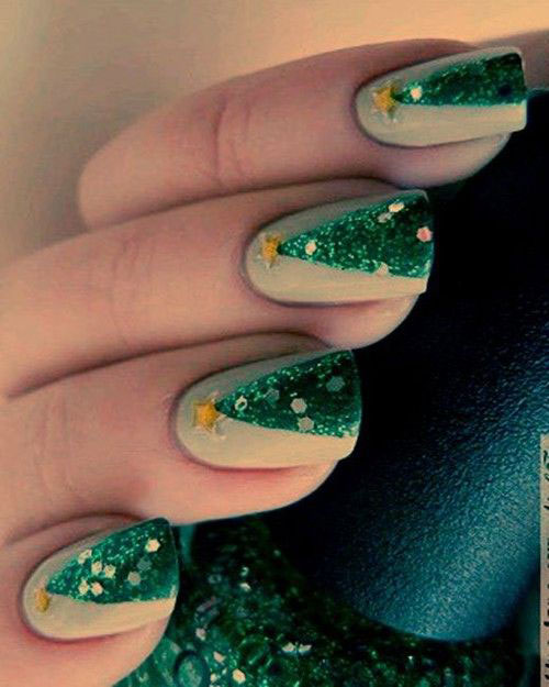 50-Easy-Christmas-Tree-Nail-Art-Designs-Ideas-Stickers-2015-Xmas-Nails-26
