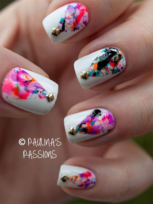 50-Easy-Christmas-Tree-Nail-Art-Designs-Ideas-Stickers-2015-Xmas-Nails-28