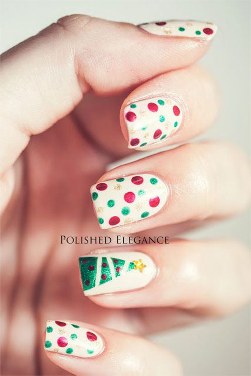 50-Easy-Christmas-Tree-Nail-Art-Designs-Ideas-Stickers-2015-Xmas-Nails-30
