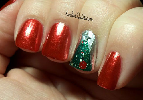 50-Easy-Christmas-Tree-Nail-Art-Designs-Ideas-Stickers-2015-Xmas-Nails-35