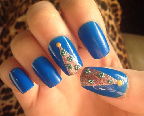 50-Easy-Christmas-Tree-Nail-Art-Designs-Ideas-Stickers-2015-Xmas-Nails-36