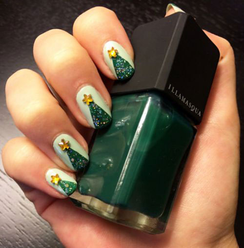 50-Easy-Christmas-Tree-Nail-Art-Designs-Ideas-Stickers-2015-Xmas-Nails-43