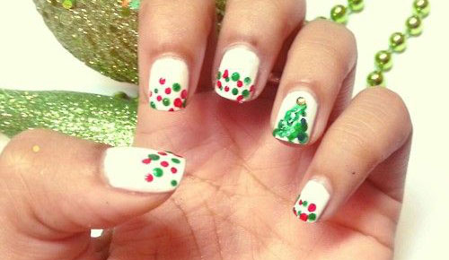 50-Easy-Christmas-Tree-Nail-Art-Designs-Ideas-Stickers-2015-Xmas-Nails-46