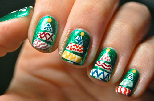 50-Easy-Christmas-Tree-Nail-Art-Designs-Ideas-Stickers-2015-Xmas-Nails-47