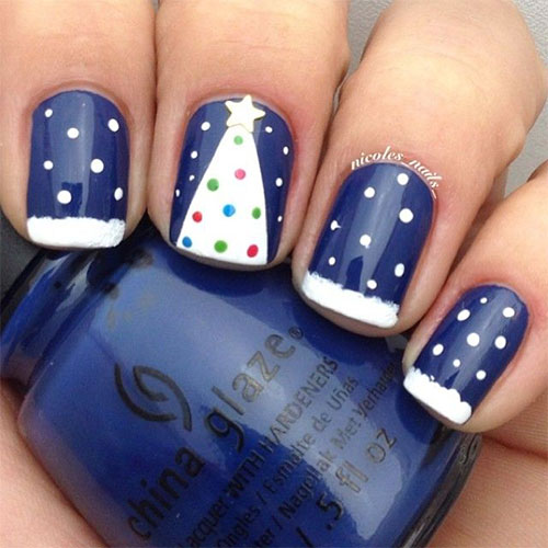50-Easy-Christmas-Tree-Nail-Art-Designs-Ideas-Stickers-2015-Xmas-Nails-6