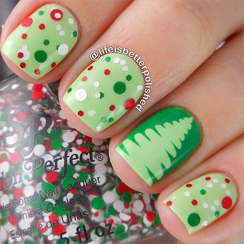 50-Easy-Christmas-Tree-Nail-Art-Designs-Ideas-Stickers-2015-Xmas-Nails-9