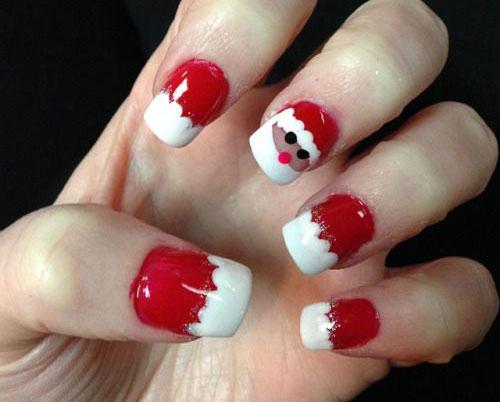 Christmas-Santa-Face-Nail-Art-Designs-Ideas-Stickers-2015-Xmas-Nails-5