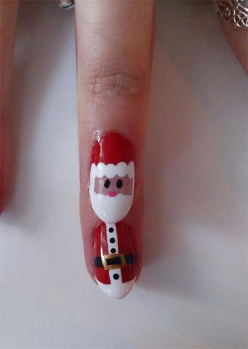 Christmas-Santa-Face-Nail-Art-Designs-Ideas-Stickers-2015-Xmas-Nails-9