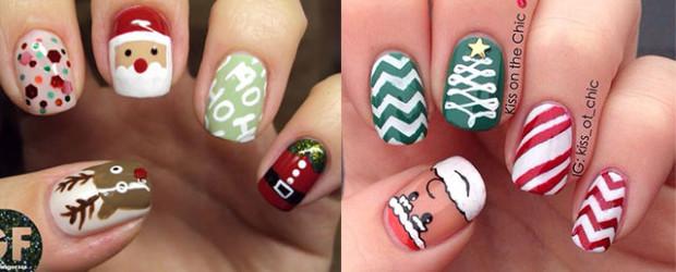 Christmas-Santa-Face-Nail-Art-Designs-Ideas-Stickers-2015-Xmas-Nails-F
