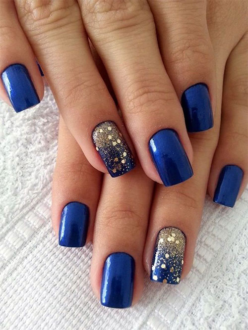 15 Blue Winter Nail Art Designs, Ideas, Trends & Stickers 2016 ...