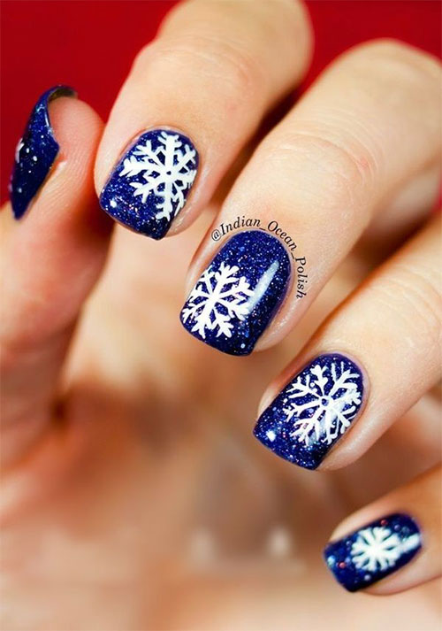 15-Blue-Winter-Nail-Art-Designs-Ideas-Trends-Stickers-2016-Winter-Nails-15
