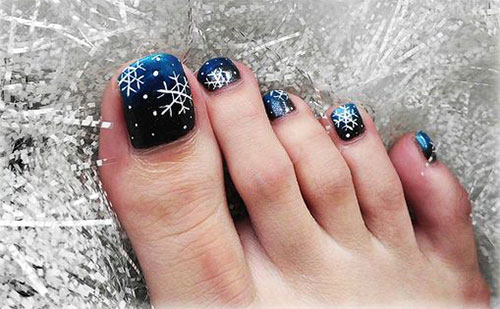 15-Christmas-Toe-Nail-Art-Designs-Ideas-Stickers- - 15 Christmas Toe Nail Art Designs, Ideas & Stickers 2015 Xmas
