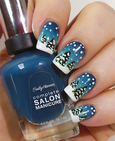 15 Snow Nail Art Designs Ideas Trends Stickers 2016 Winter