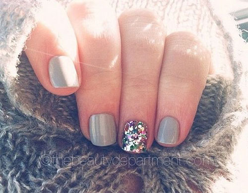 15+ Winter Gel Nail Art Designs, Ideas & Stickers 2016 | Gel Nails ...