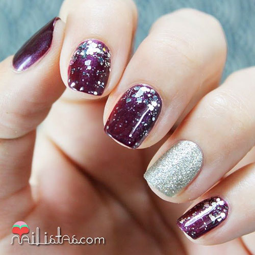 15-Winter-Gel-Nail-Art-Designs-Ideas-Stickers- - 15+ Winter Gel Nail Art Designs, Ideas & Stickers 2016 Gel Nails