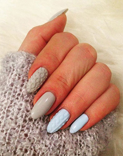 15 Winter Sweater Nail Art Designs, Ideas & Stickers 2016 ...