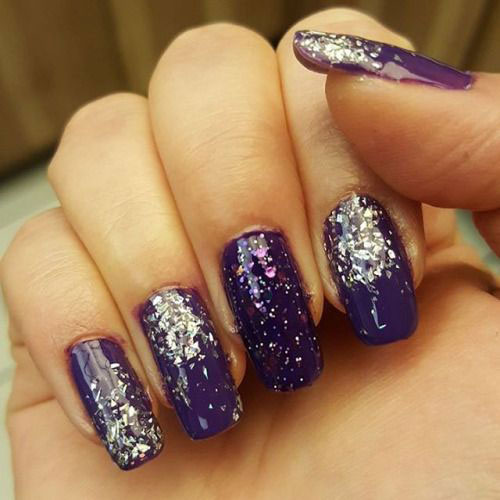 18 Best Happy New Year Nail Art Designs Ideas Stickers 2015