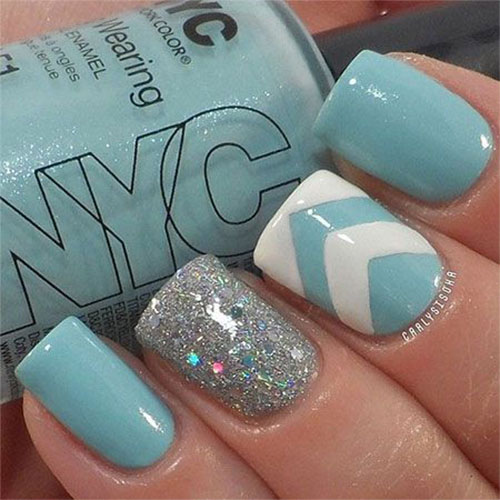 18 Best Winter Acrylic Nail Art Designs Ideas Trends