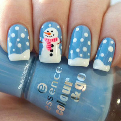 18-Snowman-Nail-Art-Designs-Ideas-Trends-Stickers-2016-Winter-Nails-10