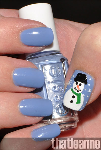 18-Snowman-Nail-Art-Designs-Ideas-Trends-Stickers-2016-Winter-Nails-13